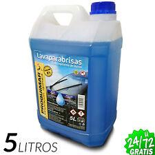 Liquido Limpiaparabrisas Lavaparabrisas 5 Litros Abrillanta Anticongelante -10ºC