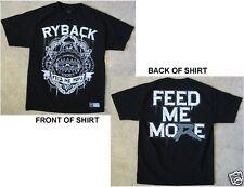 WWE Wrestling RYBACK Feed Me More Size Medium Black T-Shirt