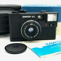 Soviet 35mm Camera ELIKON 35c Flash Lomography USSR Industar 95 2.8/38mm PERFECT