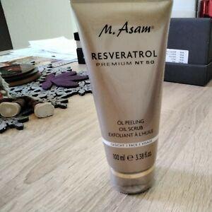 M.Asam Resveratrol Premium NT50 Öl Peeling 100ml Neu