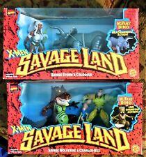 X-Men SAVAGE LAND Toy Biz 1997 WOLVERINE STORM mib