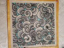 "Needlepoint Painted Canvas - Art Deco Swirls - 10""x 10"""