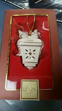 Nib Lenox Williamsburg Lantern Christmas 2006 Ornament