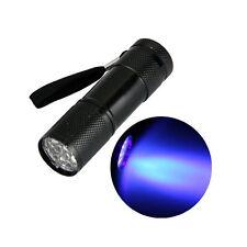 370-400LM Mini Linterna Antorcha de luz púrpura UV Ultra Violeta Luz GF