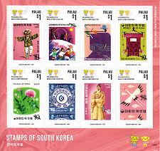 Palau 2014 MNH Stamps of South Korea 8v M/S Philakorea World Stamp Exhibition