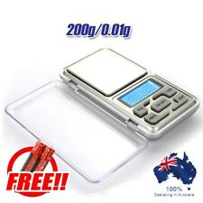 200g 0.01g Digital Pocket Scale Precision Jewellery Balance gram Scales Weight