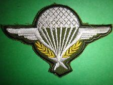 Indochine Guerre Français Parachute Machine Patch Brodé