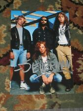 JASON EVERMAN Signed 4x6 KURT COBAIN Photo NIRVANA AUTOGRAPH 1