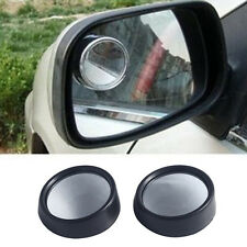"""2x BLIND SPOT REARVIEW MIRROR ROUND ADHESIVE 2""""INCH EASY FIT WIDE VIEW ANGLE VAN"""
