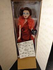"Ashton Drake Gene Marshall 15 1/2"" Doll Red Venus Nrfb-Shipper Box"