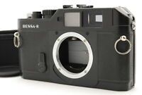 """NEAR MINT-"" VOIGTLANDER BESSA R Black RANGEFINDER Film Camera from Japan"