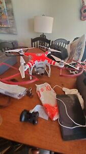 DJI Phantom 3 Advanced Drone,3 Batteries, DJI Backpack, HEADPLAY VIRTUAL HEADSET