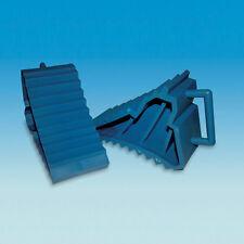 Caravan/Motorhome/Trailers Chocks Wheel Levelling Chocks Blue (Pair) BJ180