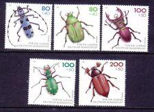 Germany B745-49 MNH 1993 Beetles Complete 5 Stamp Set Very Fine