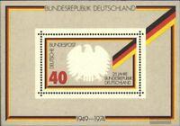 BRD (BR.Deutschland) Block10 (kompl.Ausgabe) Ersttagssonderstempel gestempelt 19