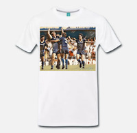 T-SHIRT MAGLIA TRIBUTO SCUDETTO HELLAS VERONA BRIEGEL ELKJAER ARTWORK S-M-L-XL