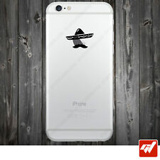 Sticker Autocollant Apple Iphone 4 5 6  Lot de 2X - MEXICAIN SOMBRERO  IPH37