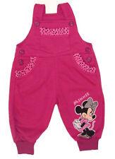 Pantalons et shorts salopettes rose pour fille de 0 à 24 mois en 100% coton