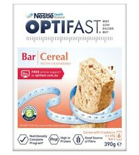 Optifast VLCD Bars Cereal  60G x 6 Pack ozhealthexperts