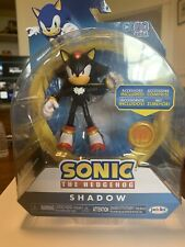 Sonic The Hedgehog Shadow Wave 4 With Super Ring Jakks New FREE SHIPPING