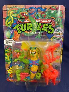 VINTAGE TMNT Scale Tail Teenage Mutant Ninja Turtles Mint MOC!