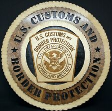 US CUSTOMS AND BORDER PROTECTION PLAQUE