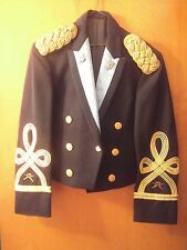 US ARMY Infantry OFFICER DRESS BLUE MESS EVENING JACKET - LT COLONEL