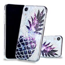 Apple iPhone XR Handyhülle Soft Case Schutzhülle Silikon Cover Ananas 3D Hülle