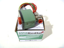 """1/4"""" ASCO 8262H152 2W NO 120/60 Stainless Steel Solenoid Valve NEW IN BOX"""
