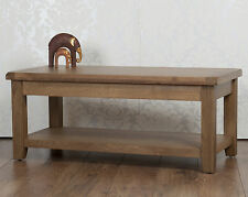 Solid Oak Coffee Table in Chunky Dorset Country Fully Assembled