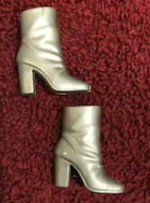 Barbie silver boots shoes accessories