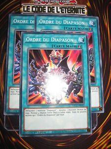 YU-GI-OH! PLAYSET (LOT DE 3) ODRE DU DIAPASON ETCO-FR062 NEUF EDITION 1 FRANCAIS
