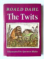 1st Ed. Roald Dahl 1981 THE TWITS HCDJ