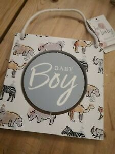 Baby Boy Hanging Decoration From Next 💙 great gift