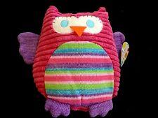 JIGGLE GIGGLE OWL CUSHION. NEW WITH TAGS.