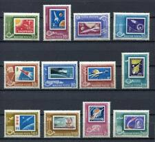 32365) Hungary 1963 MNH Space, Stamps On St.12v