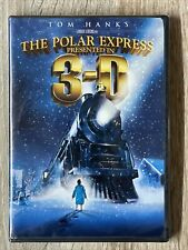 The Polar Express (Dvd, 2-Disc Set, 3-D) 4 Pairs of 3D Glasses Included - New