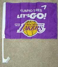 LOS ANGELES LAKERS ~ WINDOW FLAG SHOW YOUR SUPPORT FOR LA'S FAVORITE TEAM