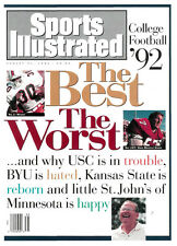 August 31, 1992 Stephen McGuire Miami Hurricanes Sports Illustrated No Label
