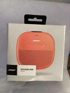 Bose SoundLink Micro Orange Bluetooth Portable  BOX ONLY NO SPEAKER