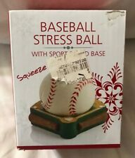 Baseball Stress Ball With Sports Stand Base