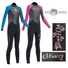 GUL G FORCE JUNIOR WETSUIT 3MM -boys girls pink blue steamer kayak snorkel rail