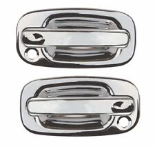 1999-2006 Chevrolet Silverado GMC Sierra Regular Cab Chrome Door Handle Covers