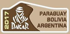 Dakar 2017 ecusson brodé patche Thermocollant  patch Paraguay-Bolivia-Argentina