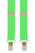 FASHION Bright Hi-Viz Verde Neon bretelle bretelle