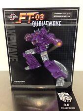 Transformers Fan Toys Quakewave ( Shockwave ) FT-03 New Sealed