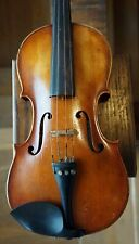 Antique Full size Violin One Piece Back Jakob Petz 1820? Old Repair Label 4/4