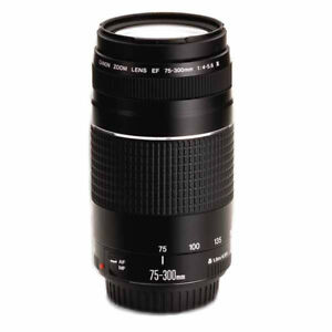 New Canon EF 75-300mm F4.0-5.6 III Zoom