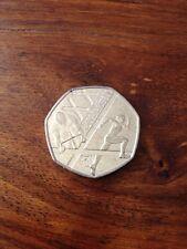 A rare 2014 Commonwealth Games 50p Coin