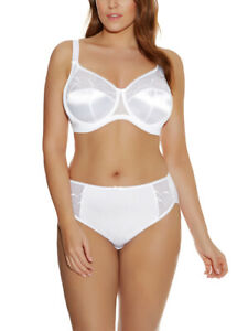 Elomi Cate Underwire Full Cup Banded Bra EL4030 White (3 week lead time)